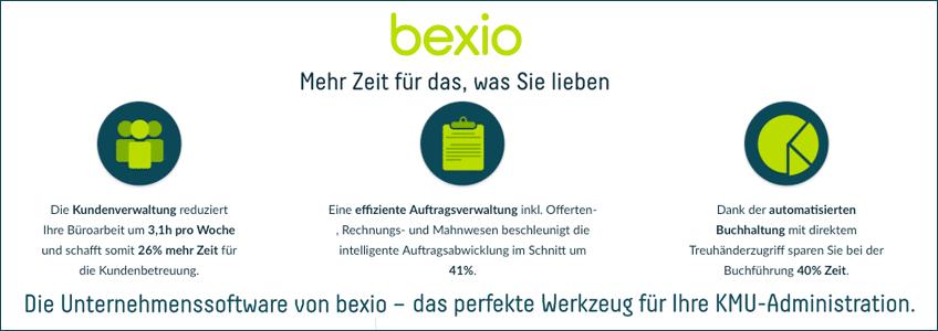 bexio Gutschein