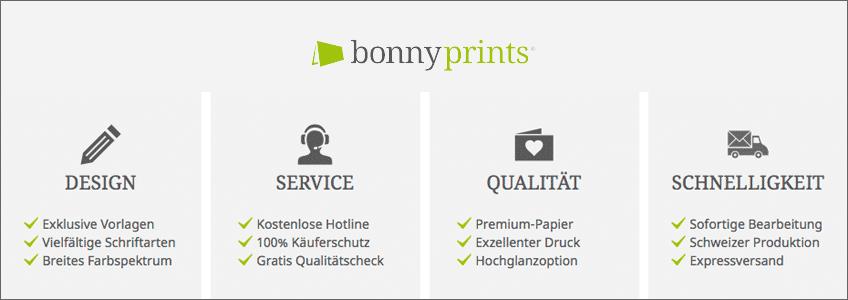 Bonnyprints Gutschein