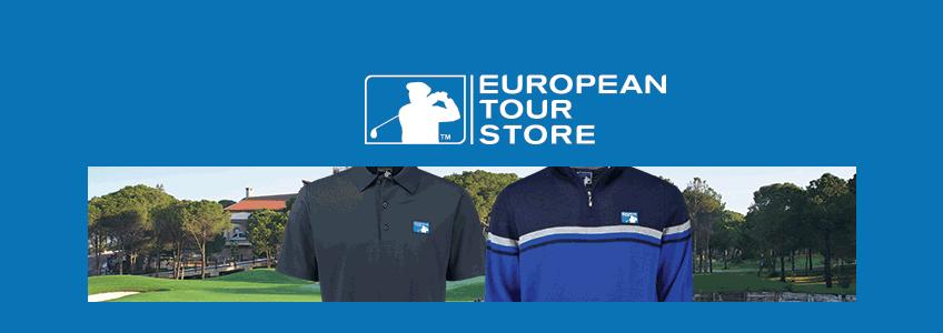 European Tour Shop Gutschein
