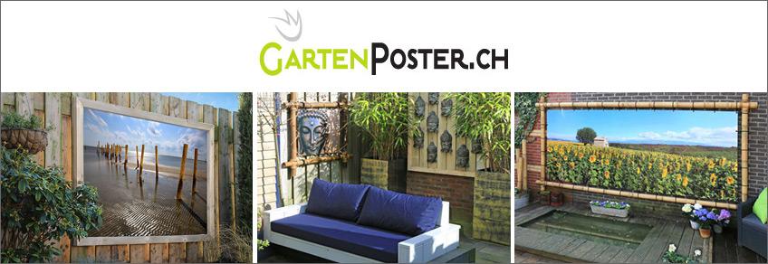Gartenposter Gutschein