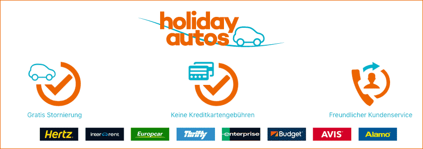 Holiday Autos Gutschein