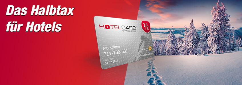 Hotelcard Gutschein