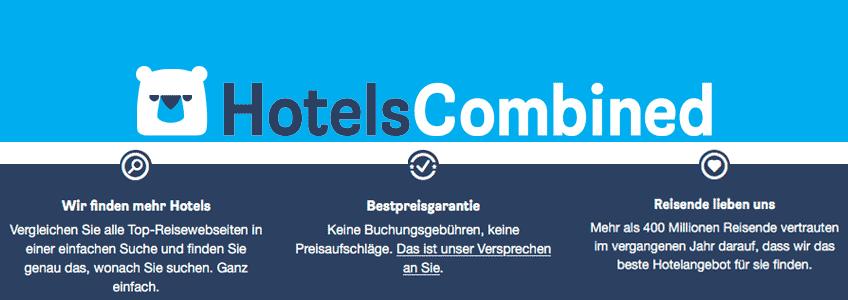 HotelsCombined Gutschein