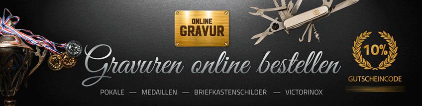 Online Gravur Gutschein