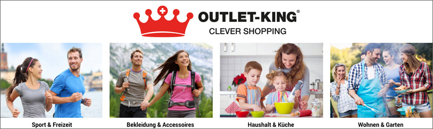 Outlet King Gutschein