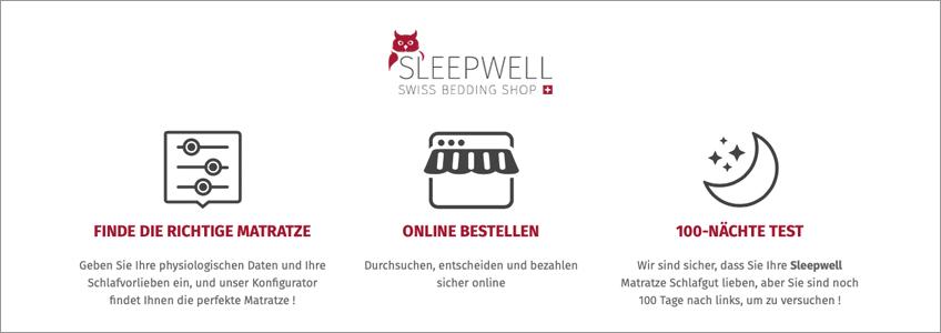 Sleepwell Gutschein