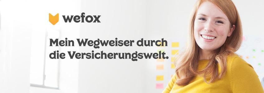 Wefox Versicherungen Gutschein